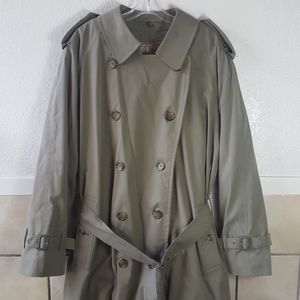BURBERRYS Trench coat wool lined Nova check trenc…